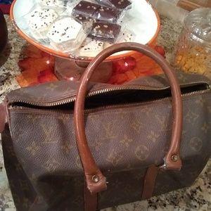 Louis Vuitton speedy bag 1970s